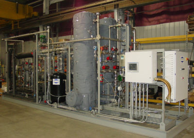 Modular Process Skid Assembly with Hazardous location wiring
