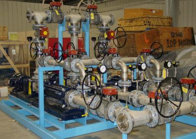 Waste Water Treatment pump skid assembly